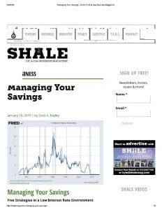 Managing Your Savings